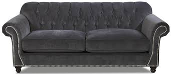 traditional sofas with wood trim inspirational sofa with tufted back