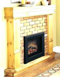 full image for white cube ctric stove wall mount fireplace inch synergy linear 50 electric with