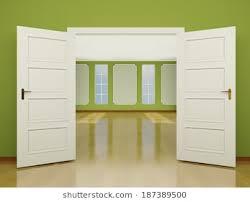 wide open doors. Beautiful Doors A Wide Open Door Entrance To The Living Room Brightly Lit Room In Classic  Style To Wide Open Doors