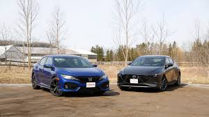 2019 Honda Civic Vs Mazda3 Which One Is The Better