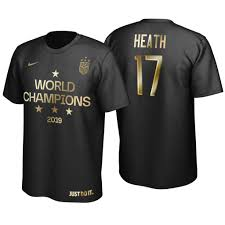 Heath Men's Usa World Tobin Cup Golden 2019 17 Black Edition T-shirt Champions Limited fdedfcadced|Packer Followers United