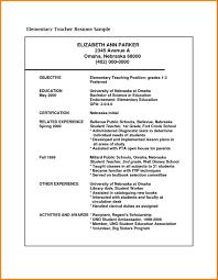Sample For Teacher Job Format For Teaching Job Sendlettersinfo