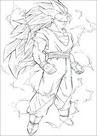 free printable dragon ball z coloring sheets a through pages in pri