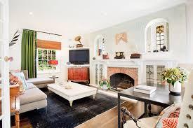 spruson street eclectic living room los angeles