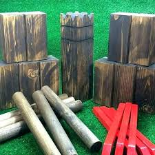 Lawn Game With Wooden Blocks Cool Yard Games Diy Ridiculously Fun Backyard Games That Are Borderline