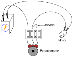 potentiometer as a rheostat dc circuits electronics textbook wiring illustration for using a potentiometer as a rheostat