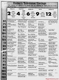 tv listings. 1968 orlando tv schedule tv listings