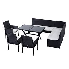 patio fantastic s black rattan garden furniture outdoor sets s concept of cafe table and chairs set