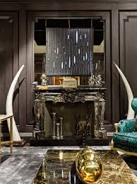 Italian furniture design Unique Provasi Italy Luxury Furniture Design Dark Marble Fireplace Provasi Luxury Italian Furniture Design Exhibiting At Salone Milan