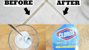 cleaning grout baking soda peroxide vs clorox