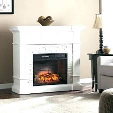 stacked stone electric fireplace corner