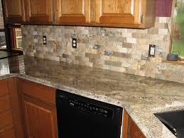 Kitchen With Stone Backsplash Amazing Stone Backsplash Also Rough Stone Backsplash Natural Stone