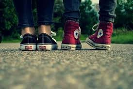 converse vs vans. most girls might say that vans are better than converse, and i should know because have asked a various number of for their opinion searched converse vs 1