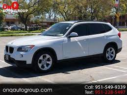 Used 2013 Bmw X1 Base For Sale At Onq Auto Group Inc In Corona Ca For 9 900 View Now On Cars Com Cars Com Bmw Car Headlights
