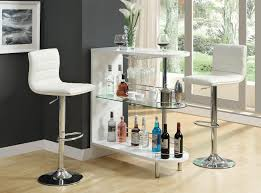 small bar table contemporary glass small bar unit dc furniture