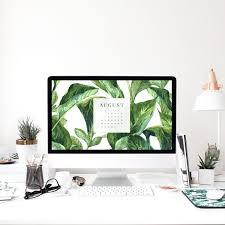 Pish And Posh Design Studio August 2017 Wallpaper Calendar Pish And Posh Designs