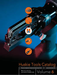 Alcoa 60 Ton Die Chart When Its On The Line You Count On Huskie Tools Manualzz Com