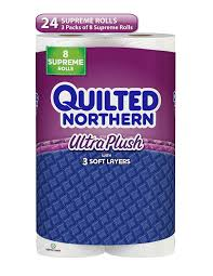 Amazon.com: Quilted Northern Ultra Plush Toilet Paper, 24 Supreme ... & Amazon.com: Quilted Northern Ultra Plush Toilet Paper, 24 Supreme Rolls  (Three 8-roll packages), Equivalent to 92+ Regular Rolls: Health & Personal  Care Adamdwight.com