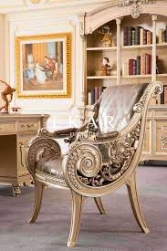 Royal Furniture Design Luxury Royal Furniture Wooden Leisure Chair Lounge Chair