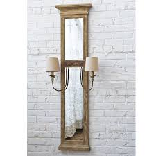 french provincial lighting. French Provincial Mirrored Sconce Weathered_wood Lighting