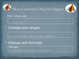 matlab axis font size matlab tips and tricks