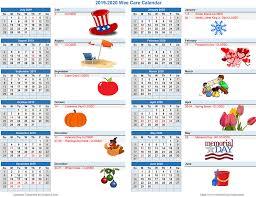2020 calandars 2019 2020 calendars