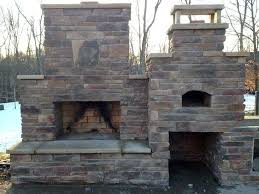 outdoor fireplace pizza oven combo fresh outdoor fireplace pizza oven bo design decoration
