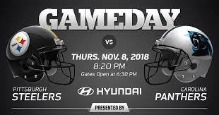 Check out one of our international sites. Pittsburgh Steelers Vs Carolina Panthers 2018 Regular Season