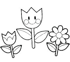 Spring Flower Coloring Pictures Artgalleriesnewyorkcom