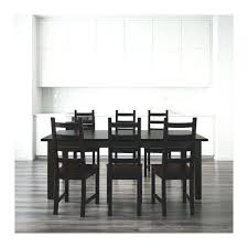 ikea dining table and 6 chairs glass dining table set