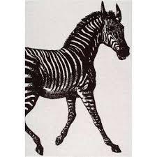 thomas paul zebra black and white 8 ft x 10 ft area rug