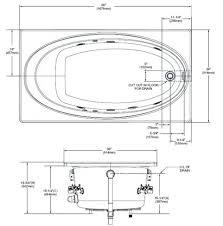 medium size of standard size of bathtub drain standard size of bathroom in meters what is