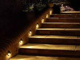 outdoor stairway lighting. outdoor enlighten your outing space with deck lighting ideas classic step lights stairway t