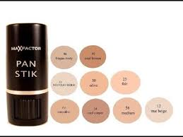 Max Factor Pan Stick Colour Chart Maxfactor Panstick Foundation Review My Opinion