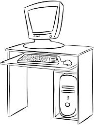 Coloriage Ordinateur Imprimer Dessin A Colorier Sur Ordinateur