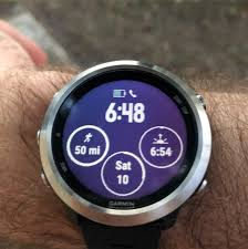 Question Forerunner 645 Change Display To Show Total