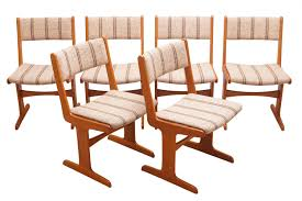 Set of <b>6</b> Scandinavian <b>Modern Dining Chairs</b> by Farso Stolefabrik ...