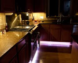 Led Lights Under Kitchen Cabinets Pk Home Slim Led Under Cabinet Lighting