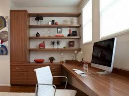 appealing modern home office furniture with wall mount wooden desk with built in storage unit that built office storage