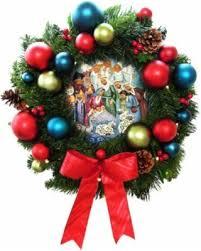 Bethlehem lighting Icicle Gkibethlehem Lighting 24 In Pre Lit Battery Operated Led Christmas Wreath With Nativity Better Homes And Gardens Spring Savings Is Upon Us Get This Deal On Gkibethlehem Lighting