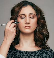 writer claire colman tests airbrush make up which promises a flawless finish and
