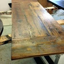 barn wood table tops rustic wood table top unfinished round wood table tops large size of
