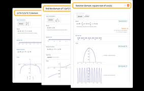 Domain And Range Calculator Wolfram Alpha