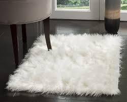safavieh faux silky ivory area rug