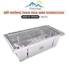 Bếp nướng cắm trại Mini BBQ Home Cook - Vietcamp - Chuyên dụng cụ cắm trại  Việt Nam