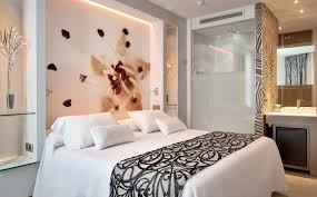 Small Picture Terrific Bedsheet Wall Design By Impressive Tile Lighting Decor