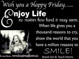 Wish you a Happy Friday Quotes - Happy Weekend Wishes and Quotes