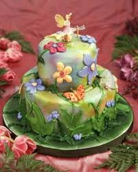Small Picture Fairy Garden Cake I made this for a friend who has a passion for