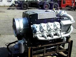 motor Tatra V8 turbo intercooler Euro 1. - YouTube