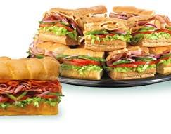 we have meeting sites with no on site restaurant so subway is a great option